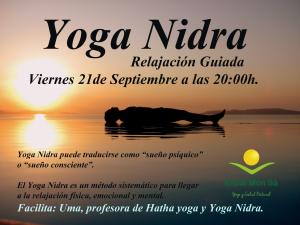 Yoga-Nidra Septiembre 2018